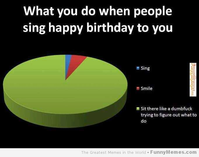 Funny Memes When People Sing You Happy Birthday Singing Happy Birthday Funny Memes Happy Birthday To You