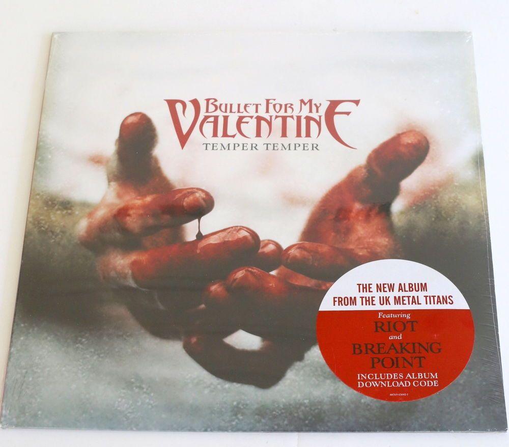 Schön BULLET FOR MY VALENTINE Temper Temper Lp SEALED VINYL Record  #AlternativeIndieHardRock