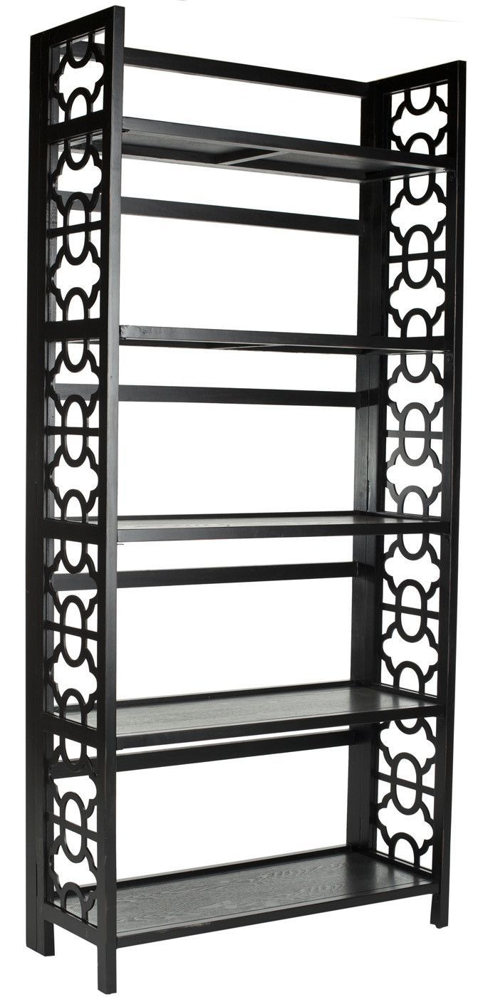Organize In Style With The Distinctive 73 Inch Tall Natalie Bookcase