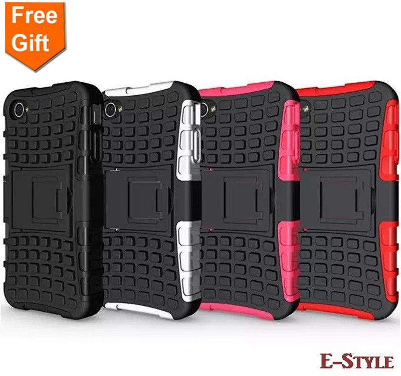 For Apple iphone 4S 4 Case Dual Layer Armor Silicone + Hard Shell Hybrid Kickstand Double Color ShockProof Hard Cover