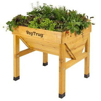 Vegtrug Patio Planters Patio Plants Wooden Patios
