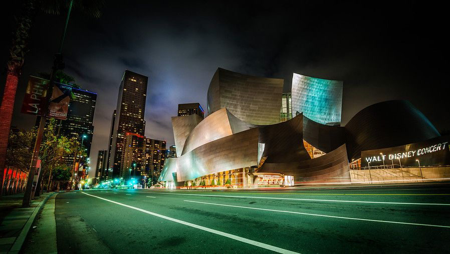 The Walt Disney Concert Hall from #treyratcliff at www.StuckInCustoms.com - all images Creative Commons Noncommercial.