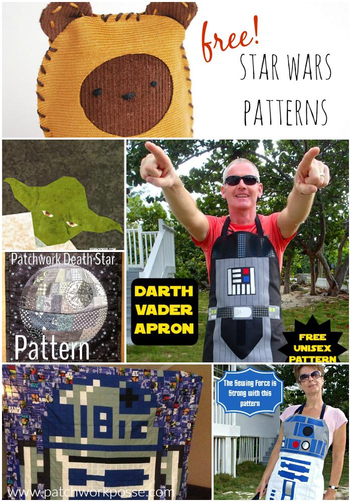 Free Star Wars Sewing Patterns - | FREE sewing patterns | Pinterest ...