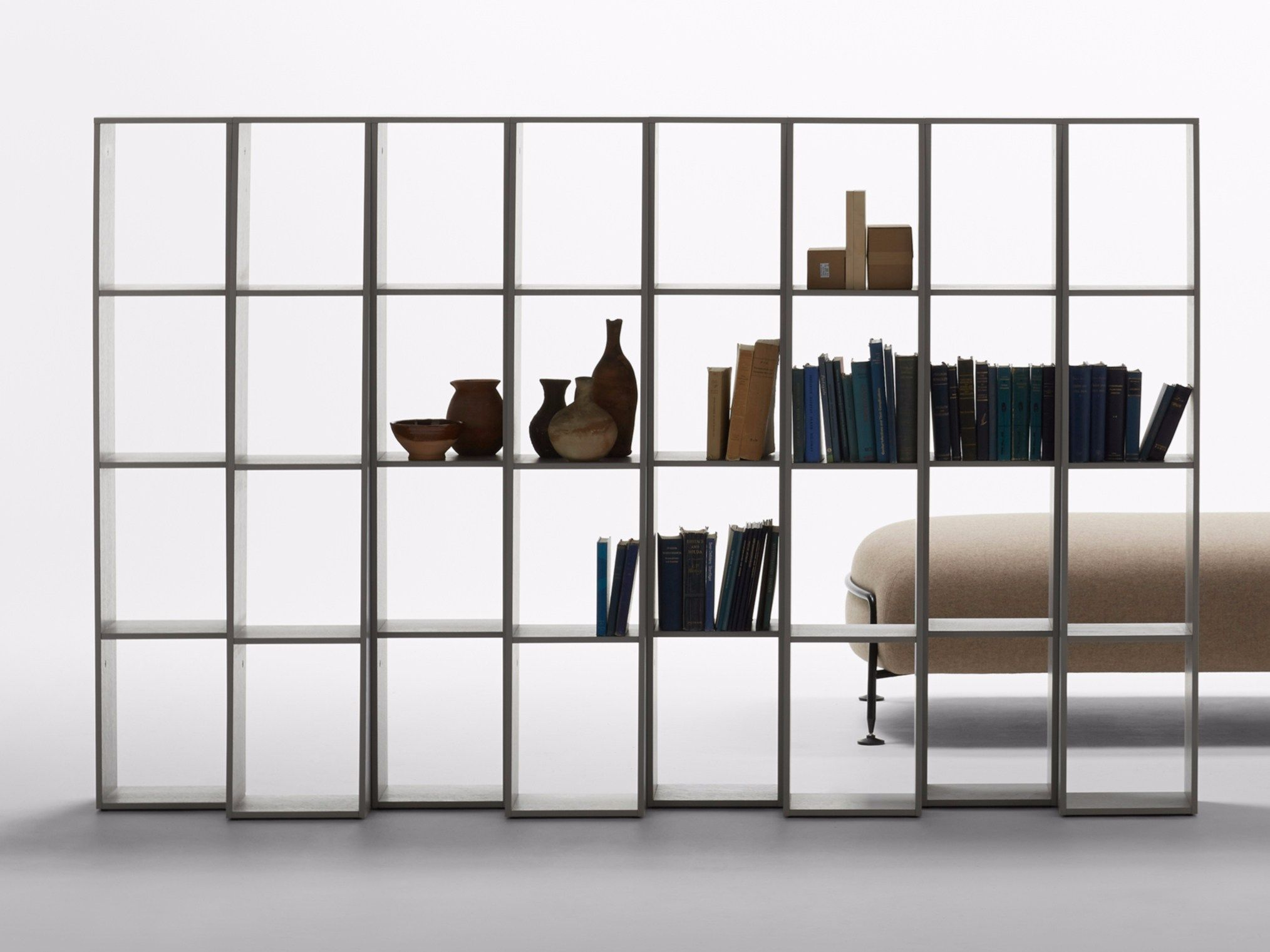 Swedish Brand Massproductions Endless Shelving Doubles As An Adjustable Room