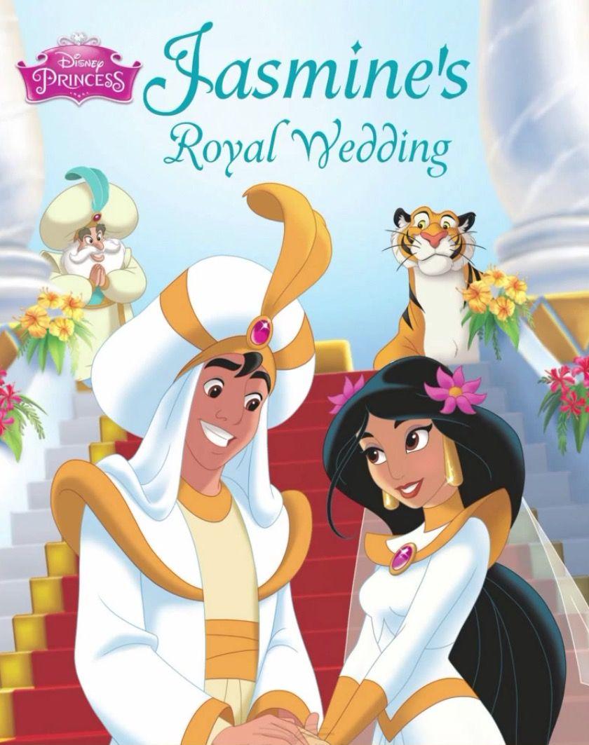 Princess Jasmine S Royal Wedding The Story Of Jasmine S Wedding Day To Aladdin Disney Jasmine Disney Princess Jasmine Disney [ 1063 x 840 Pixel ]