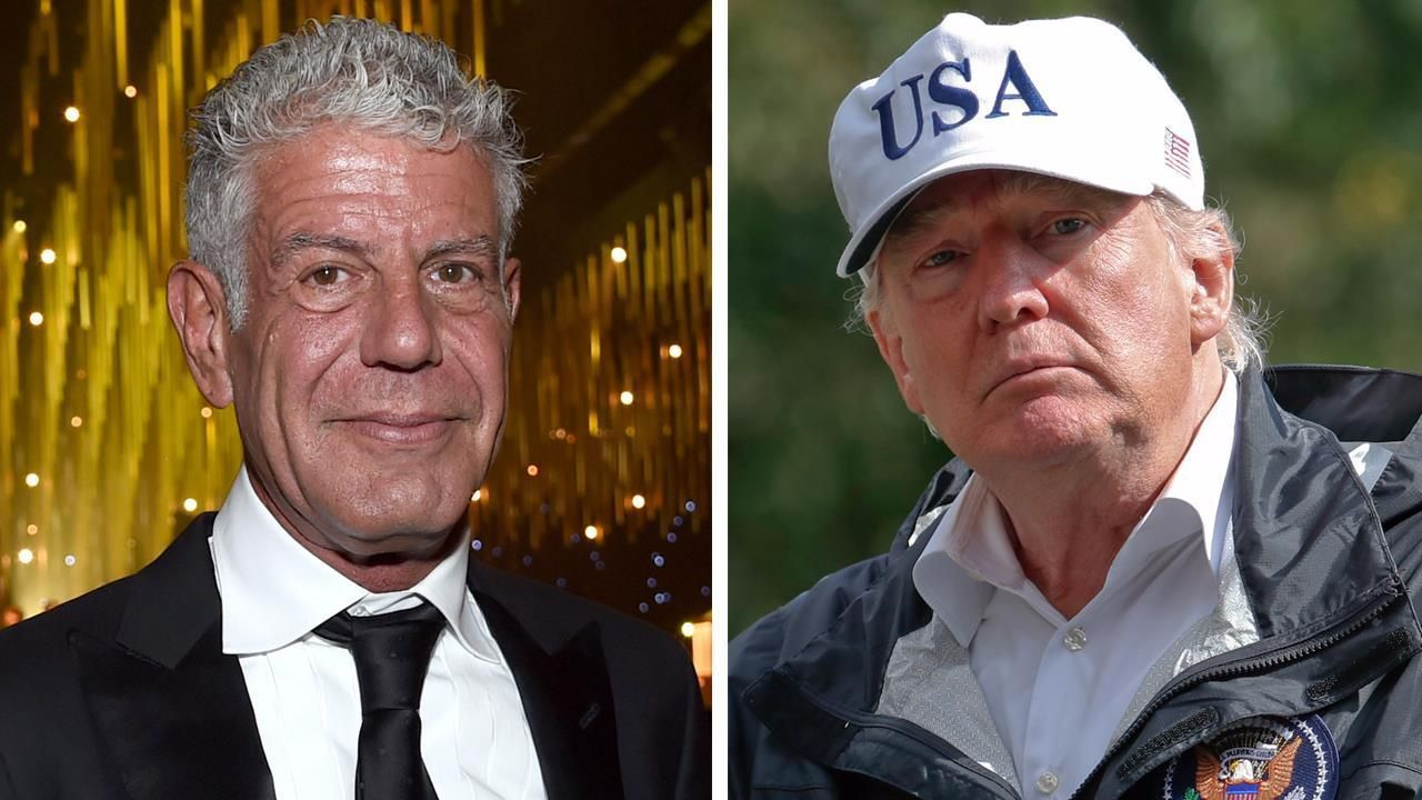 "foxnewsonline@foxnews.com (Fox News Online)   Anthony Bourdain, host of ""Parts Unknown"" on liberal CNN, said last week that he would poison Donald Trump if the celebrity chef was asked to cater a peace summit between the President and Kim Jong Un. ""Hemlock,"" Bourdain simply replied when asked by... - #Anthony, #Bourdain, #CNN, #Host, #News, #Poison, #Trump"