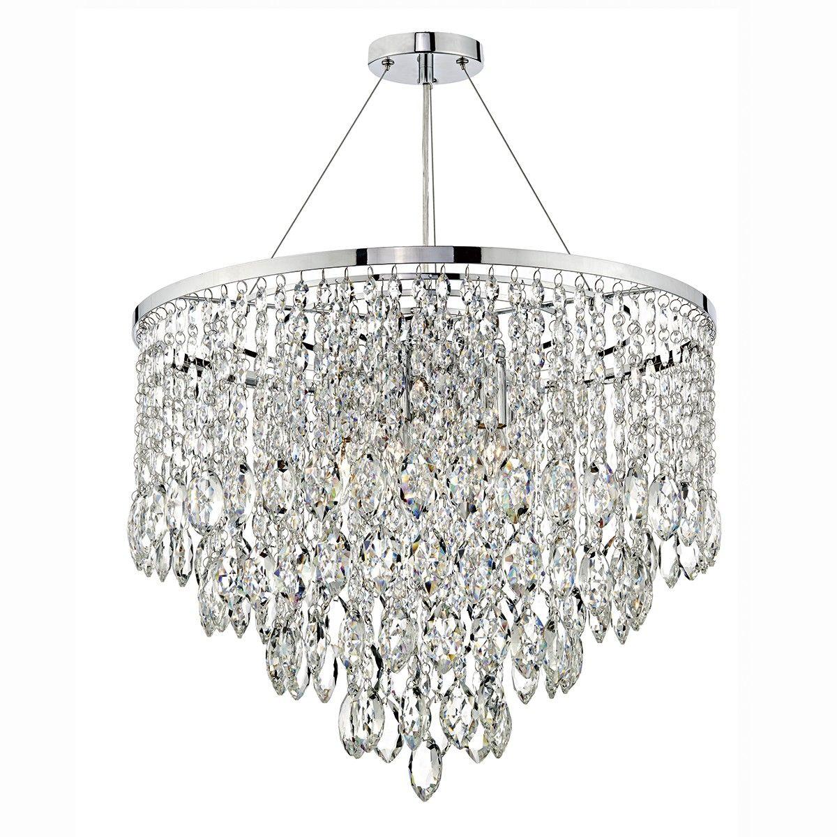 Pescara 5 light round pendant decorative crystal min height is 55cm pescara 5 light round pendant decorative crystal min height is 55cm might be too mozeypictures Gallery