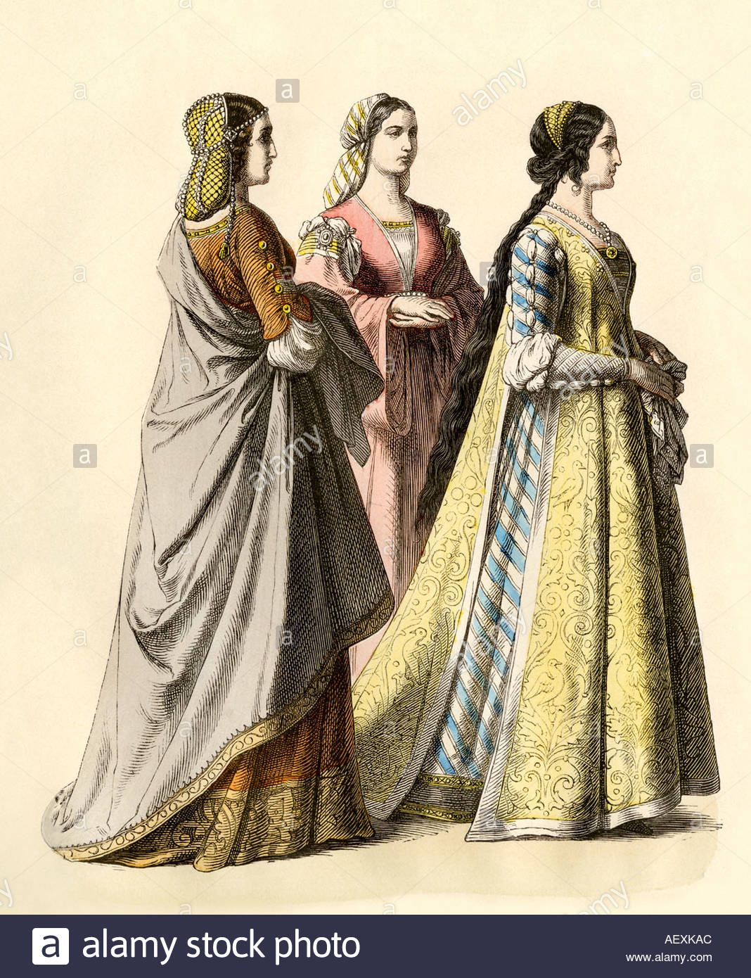 early renaissance clothing