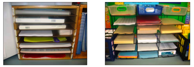Avoiding the paper trap: 7 simple steps to organizing your papers, from Angela Watson (Powell) at thecornerstoneforteachers.com
