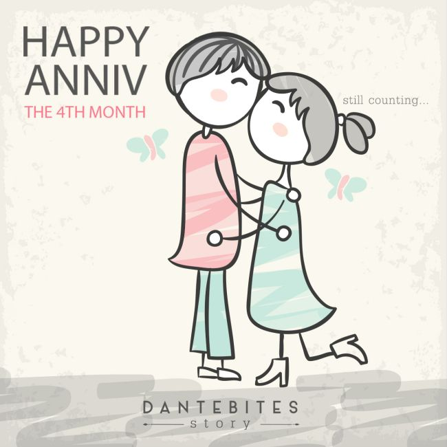 Happy Anniversary 4 Month Charlie Happy