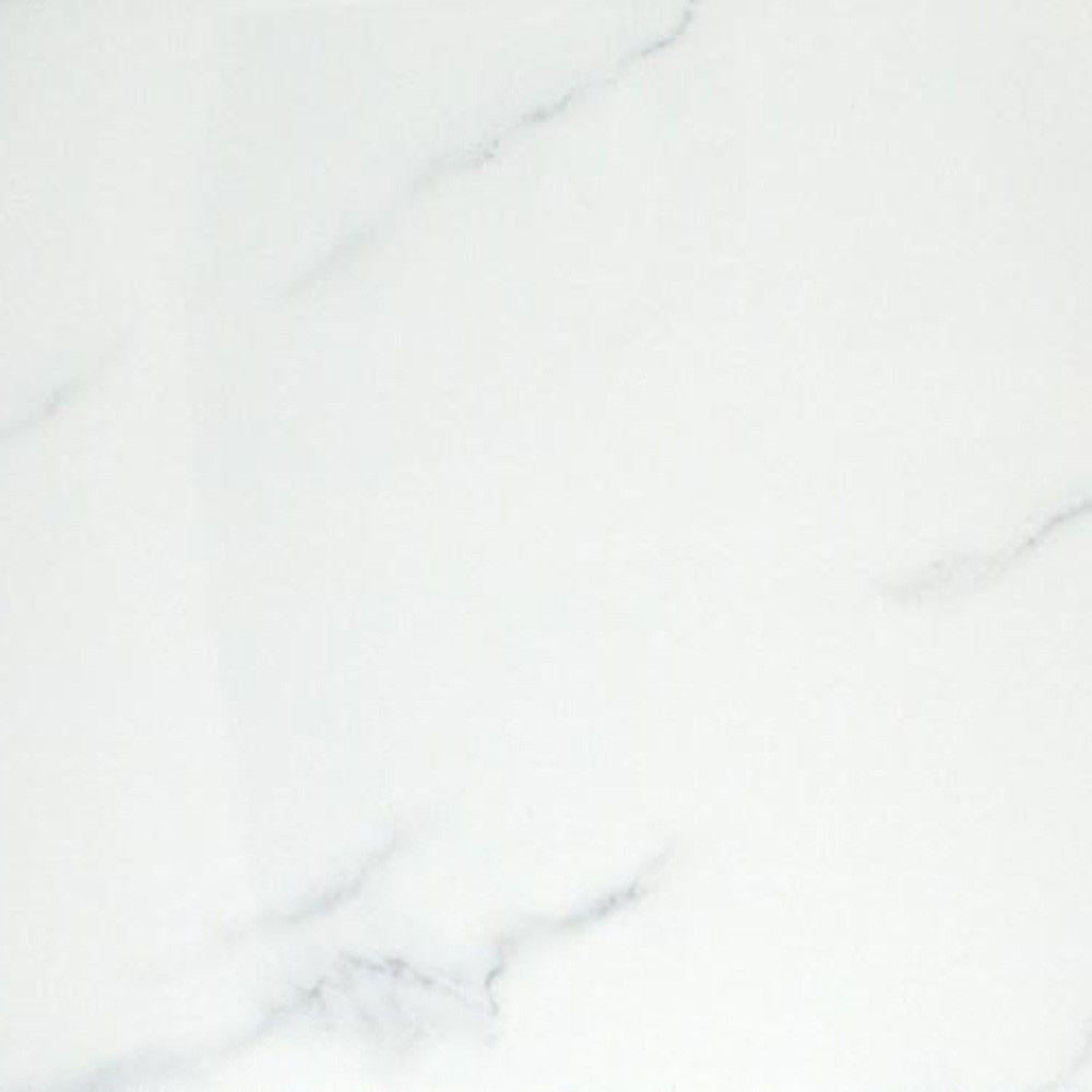 White Carrara Marble Effect Floor Tiles Italian 333x333x10mm