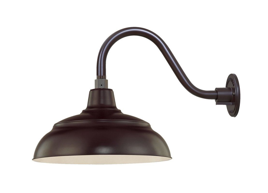 Millennium Lighting Architectural Bronze R Series 1 Light Outdoor Wall Sconce With Dark Sky Compliant 14