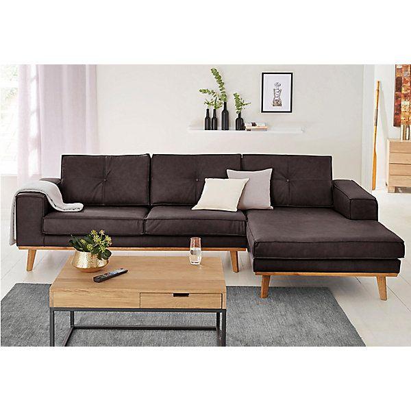 Home Affaire 3 Sitzer Mit Steppung Im Rucken Und 2 Zierkissen In Gleichem Bezugsstoff Another Test Zierkissen Wohnzimmer Sofa Sofas