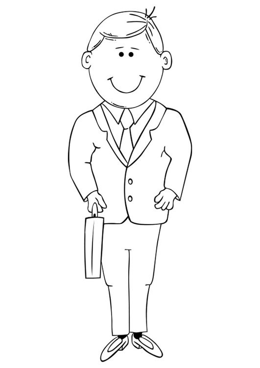 Coloring Page Tailor Made Suit Epic Graduation Party