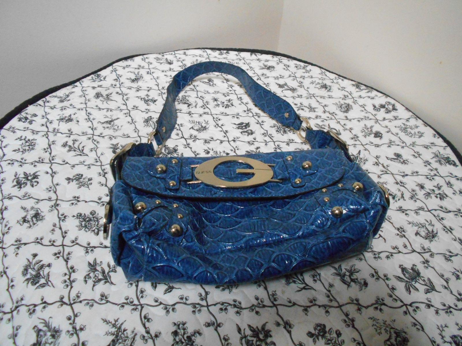 00ebe2d073 Guess purse handbag Blue
