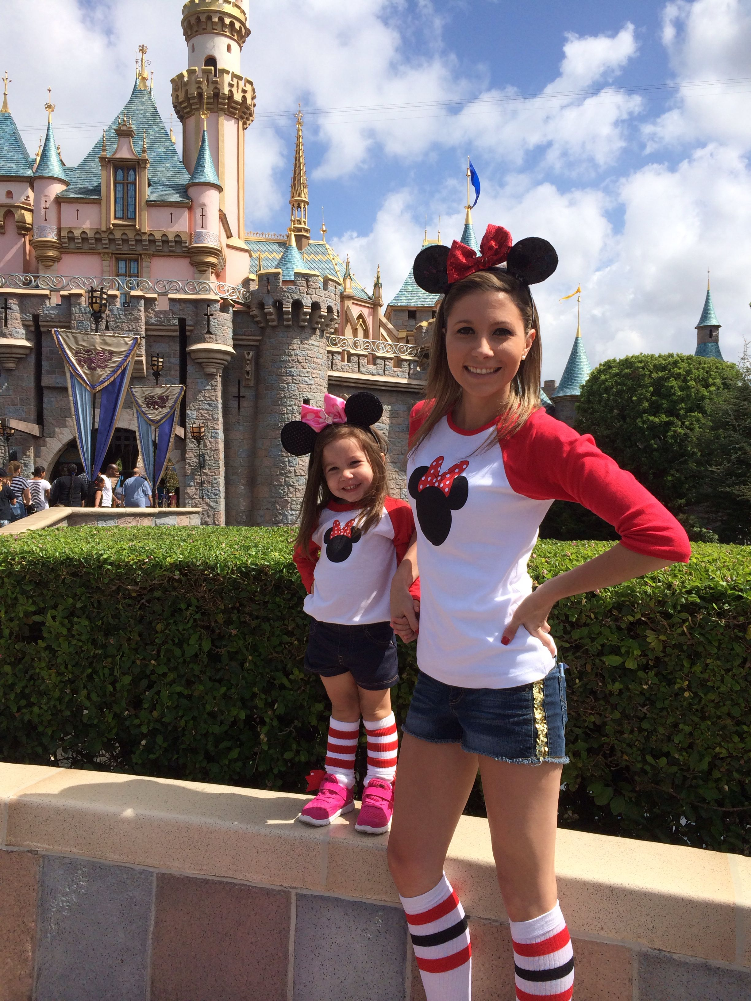 59f747b65621a Mother daughter trip! Matching! Minnie Mouse! OrchardStreetPress apparel !  Great deal