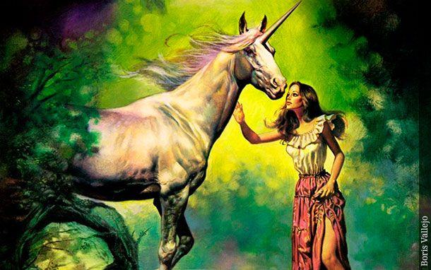 Unicornio, De Boris Vallejo