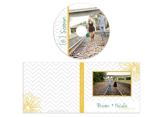 $10 Photographer CD case & label template @Robb Quicci
