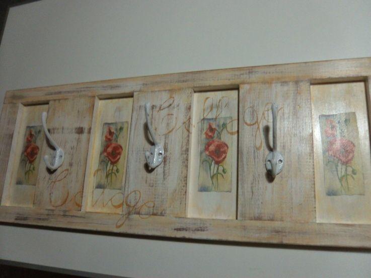 Algo de vintage home pinterest percheros de pared - Percheros pared vintage ...