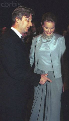 reine mathilde et roi philippe
