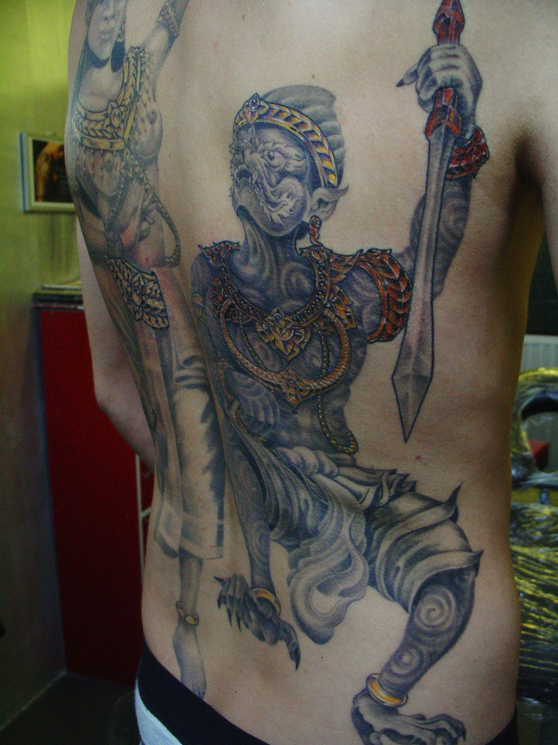 Fi Fireman Tattoo Designs - King of monkey tatoo custom tattoo free hand tattoo bamboo tatoo tattoo design design tatoo