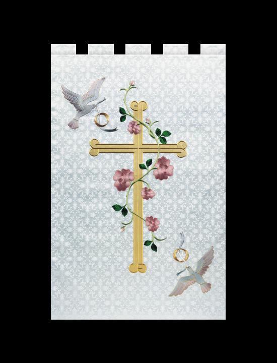 e2fc1cc395 Banner – HMB - Church Banners - Paraments   Altar- Linens- love this design  for wedding paraments