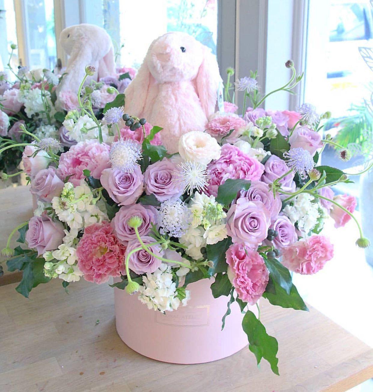Fiestaflowersplantsgifts 2 Flores Y Peluches
