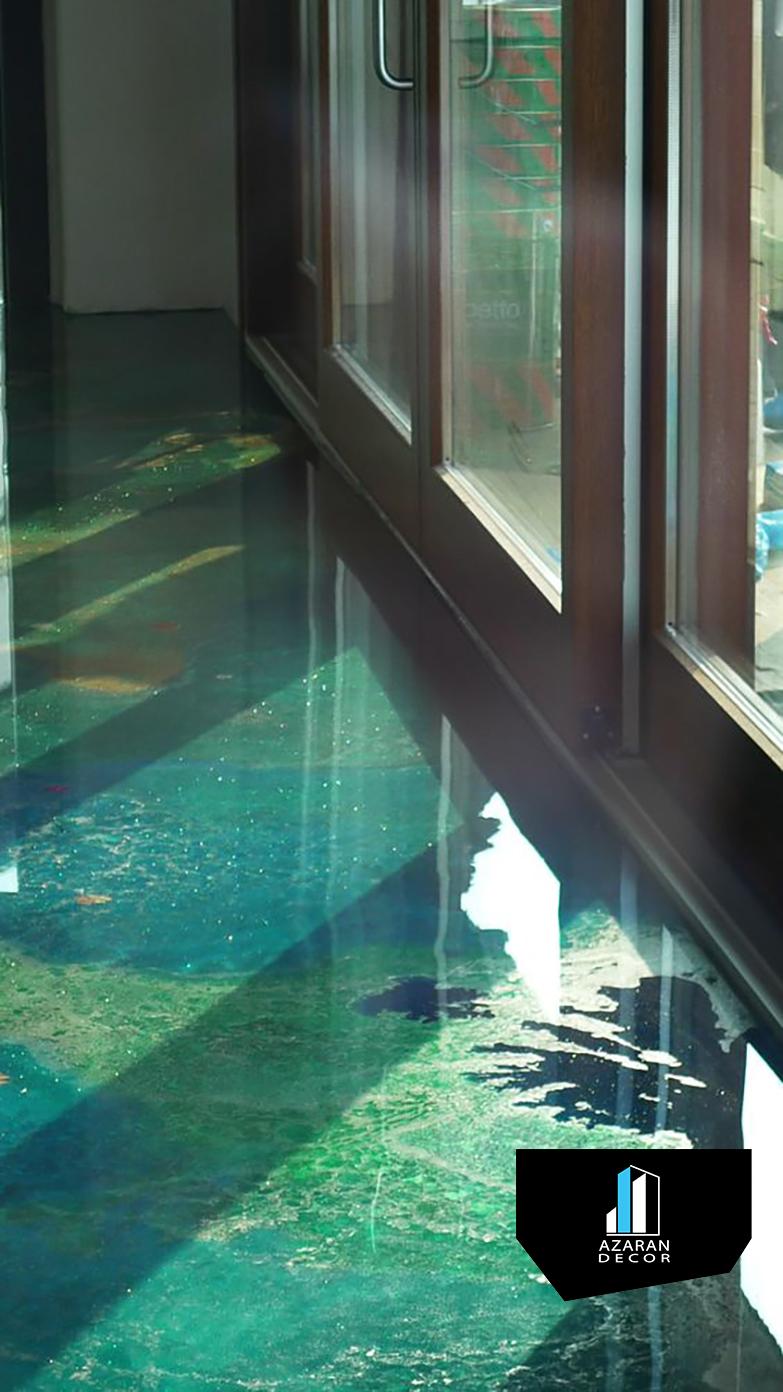 کفپوش اپوکسی In 2020 Epoxy Resin Flooring Epoxy Floor Basement Flooring Options