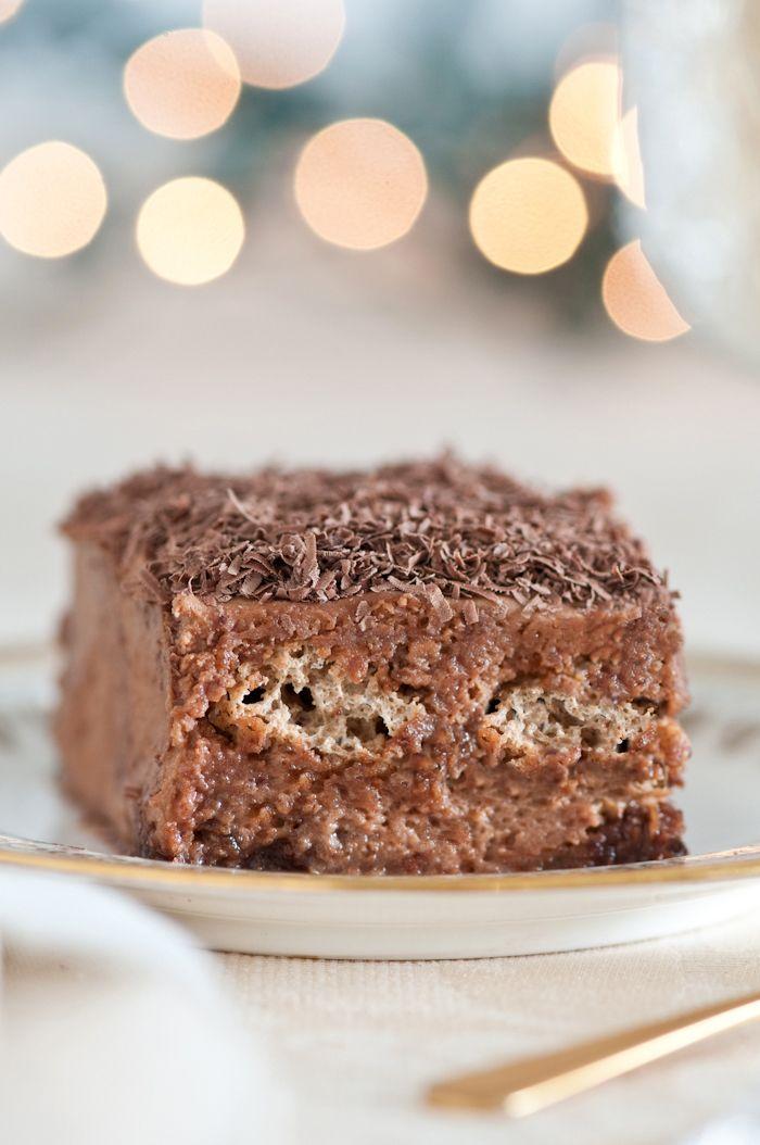 Chocolate Amaretti Tiramisu