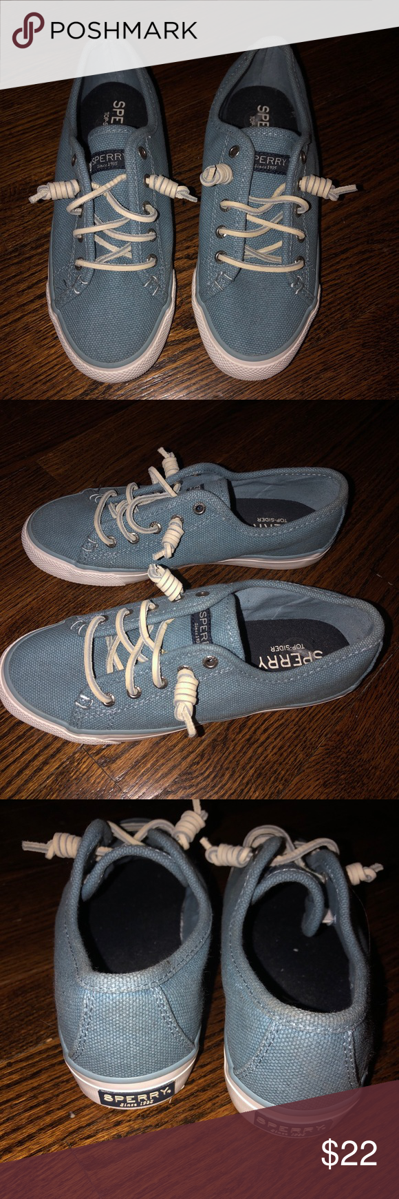 Never worn!!! Women's sperry's 6.5! Never worn women's sperry's size 6.5! Sperry Shoes Sneakers #myposhpicks