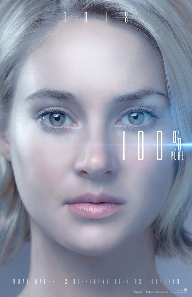 The Divergent Series: Allegiant - Tris Character Poster