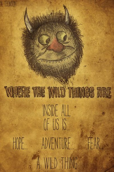 Fancy - Where The Wild Things Are Print