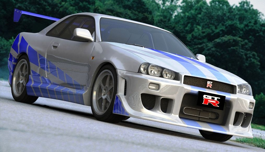 Brian O Conner s Nissan Skyline R34 GT-R : 2 Fast 2 Furious ...