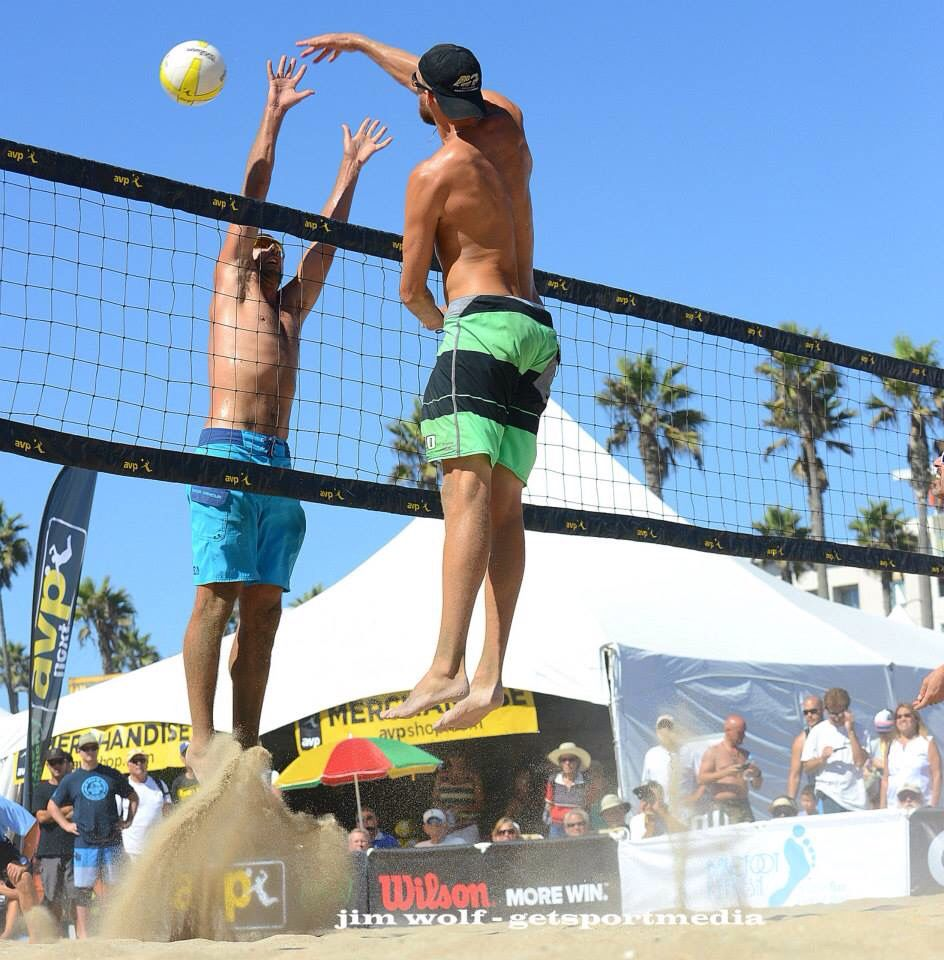 Theo Brunner At Huntington Beach Volleyball Huntington Beach Huntington