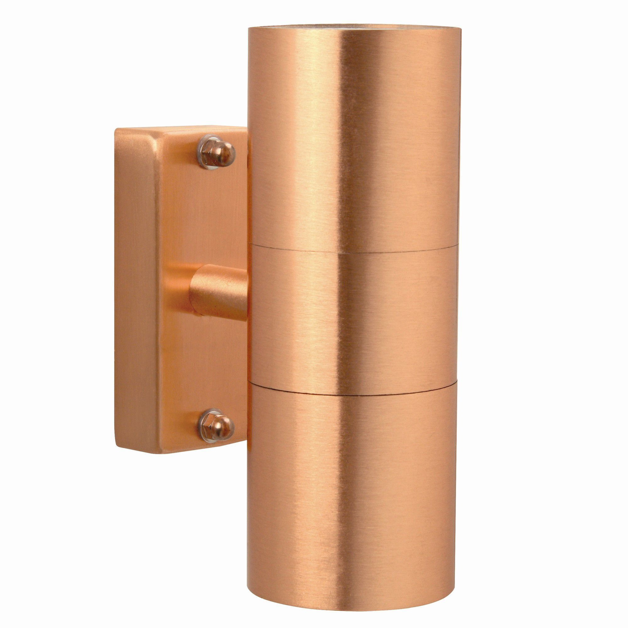 Tesco Direct Nordlux Tin Up And Down Wall Light Copper Wall Lights Nordlux Double Wall Lights