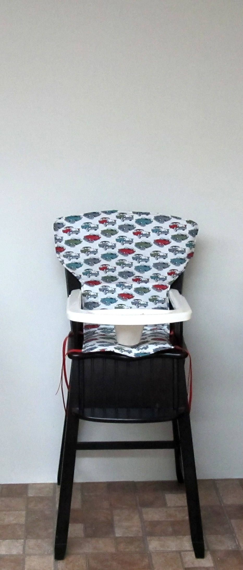 Eddie Bauer wood high chair cover NEWPORT STYLE baby