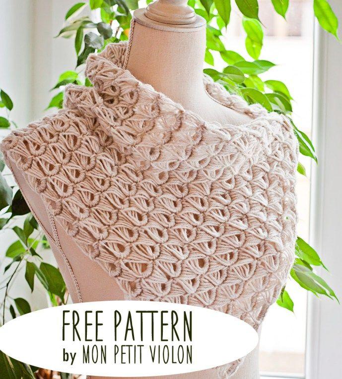 Free pattern – Broomstick Lace Cowl | crochet stuff | Pinterest