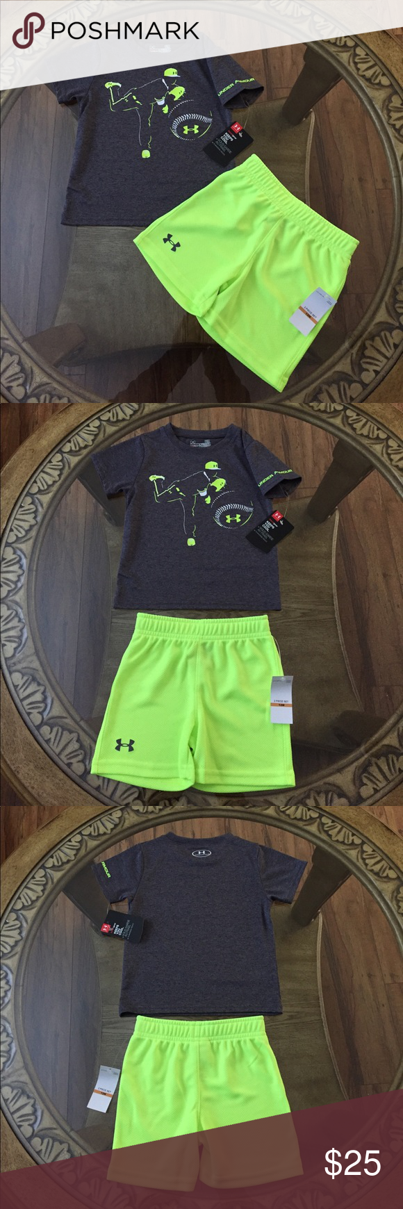 UNDER ARMOUR (YL) GIRLS OUTFIT Brand New Under Armour Size