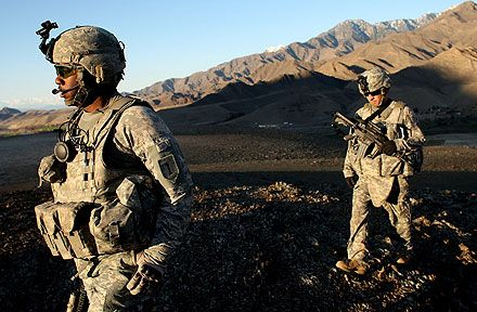 10th Mountain Division On Patrol In Afghanistan Army Usarmy Usa