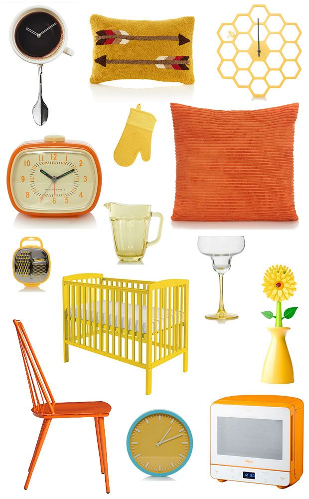 Asda george wish list retro orange yellow home accessories a mum reviews