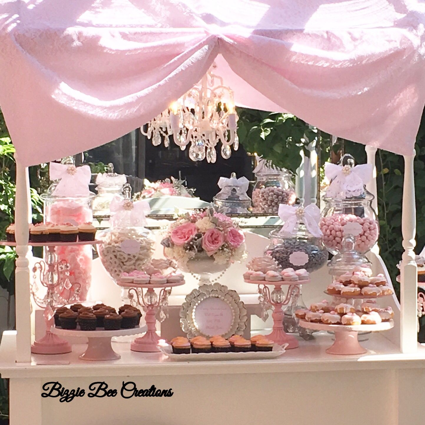 Victorian Candy Dessert Cart by Bizzie Bee Creations | Candy Buffets ...