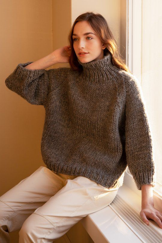 Lempi sweater Novita Hygge Wool in 2020 | Easy sweater ...