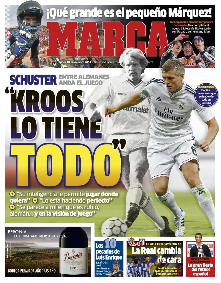 Marca On Twitter Toni Kroos Soccer Team World Cup