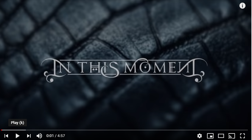 In This Moment In The Air Tonight Official Lyric Video In The Air Tonight Lyrics In This Moment