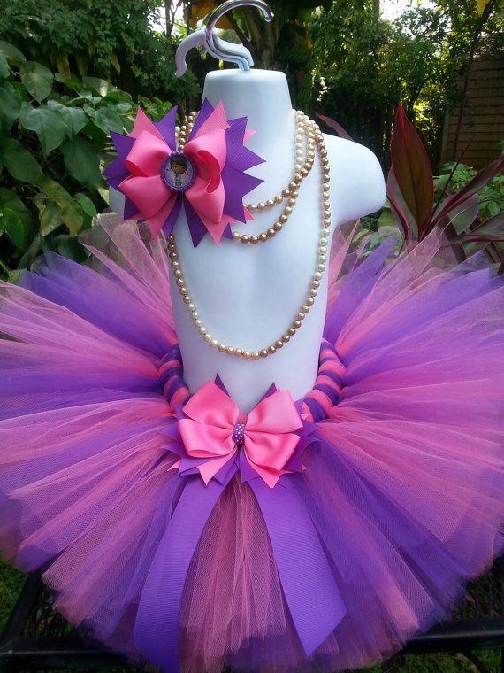 604d89f88 Hecho a mano tutú tutú de color rosa y púrpura tutu niña   tutu ...