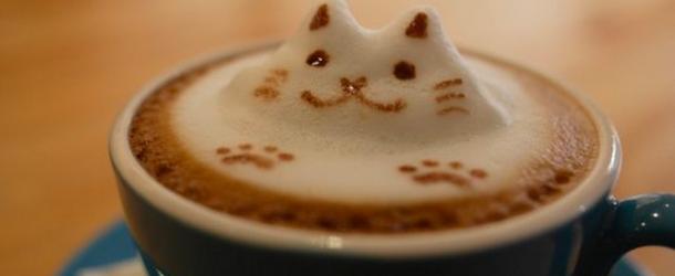 Cool Cappuccino Foam Art