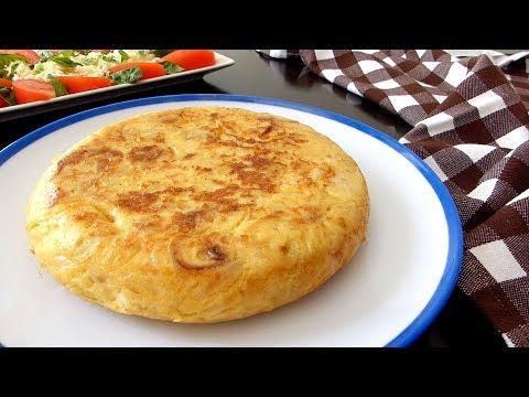 193 Cómo Hacer Tortilla De Patatas Con Cebolla La Autentica Tortilla Española Muy Jugosa En 2020 Recetas De Comida Tortilla De Patatas Recetas Fáciles De Comida