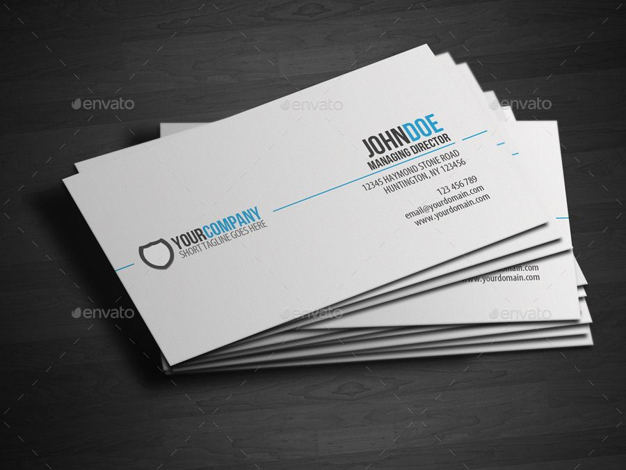 Simple professional business card business cards business and simple professional business card colourmoves Image collections