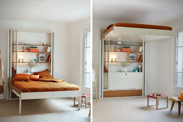 Not enough space in your downtown studio we understand for Bunk bed alternative
