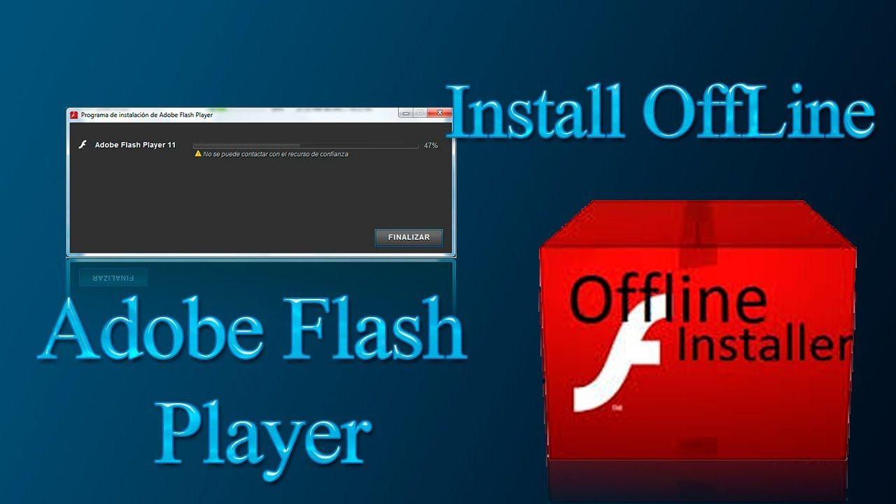 Latest adobe flash player offline